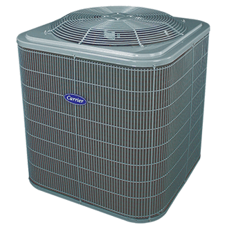 Carrier Comfort 15 heat pump.