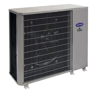 Carrier Performance 14 heat pump.