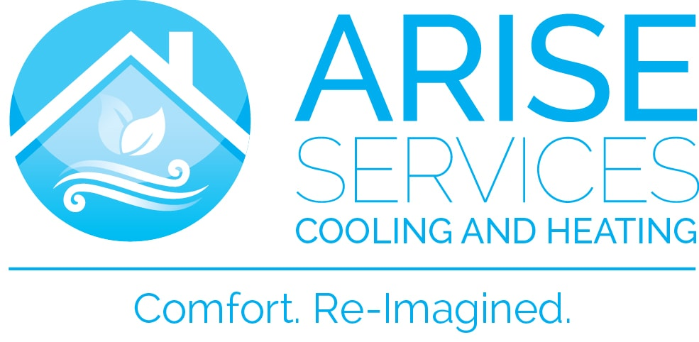 Arise Services blue logo.