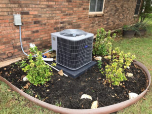 A new air conditioner installed by Arise Services.