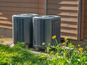 Air Conditioner units outside in Cedar Park, TX